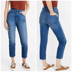 MADEWELL THE MOM JEANS